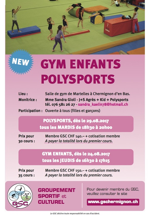 Gym enfants + polysports